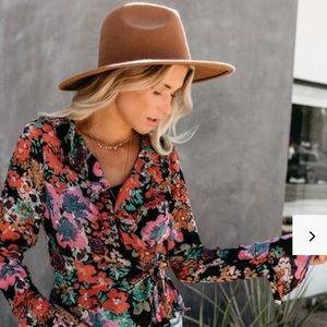 🆕Vici El Dorado Brown Hat